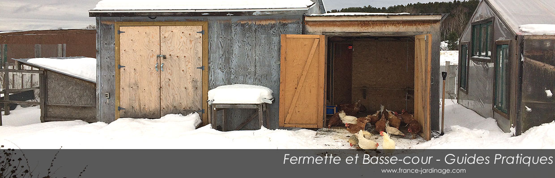 Guide de projets à la basse-cour - Photos reportages Fermette-basse-cour-couverture