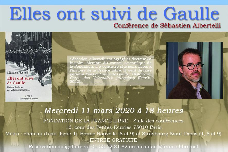 [CONFÉRENCE] Histoire du Corps des Volontaires françaises Flyer-110320-web
