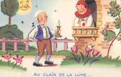 LES ANECDOTES  HISTORIQUES,  DROLES OU ENCORE INSOLITES Au_Clair_de_la_Lune2
