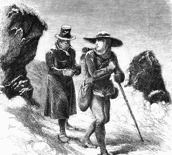 La conquête du Mont Blanc. Balmat-Paccard