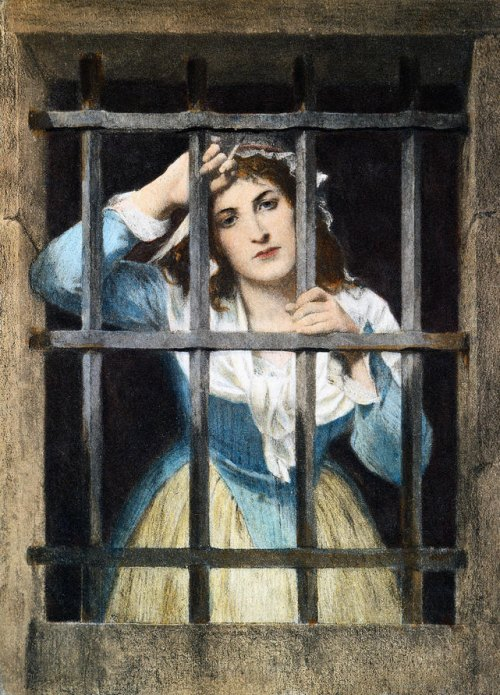LES ANECDOTES  HISTORIQUES,  DROLES OU ENCORE INSOLITES - Page 17 Charlotte-Corday-Prison