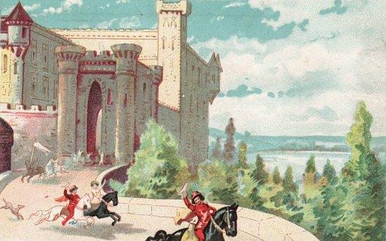 UN PETIT COIN DE CULTURE - Page 2 Chateau-Feodal