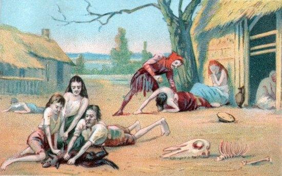 UN PETIT COIN DE CULTURE - Page 2 Famine-Moyen-Age