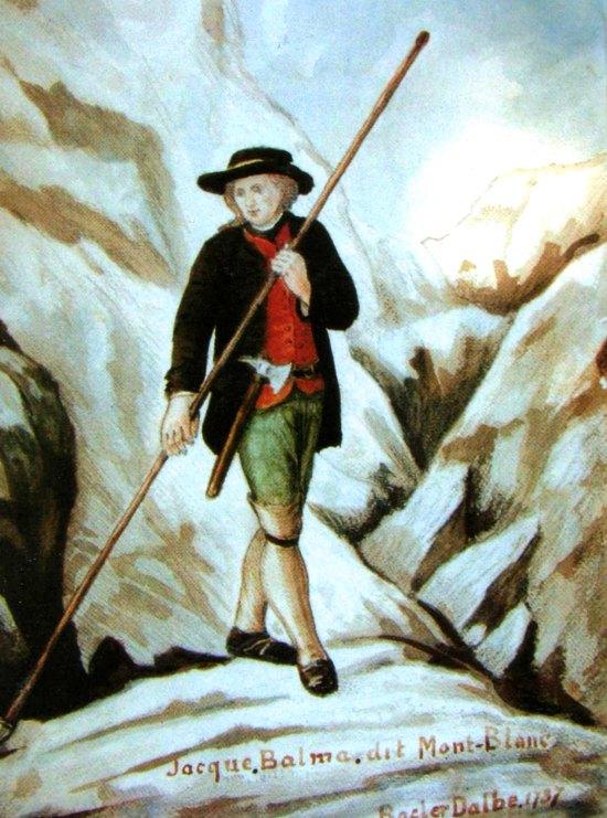 La conquête du Mont Blanc. Jacques-Balmat