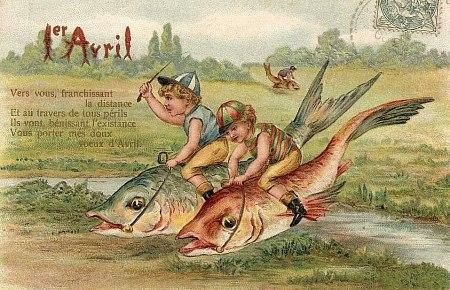 LES ANECDOTES  HISTORIQUES,  DROLES OU ENCORE INSOLITES - Page 6 Poisson-Avril
