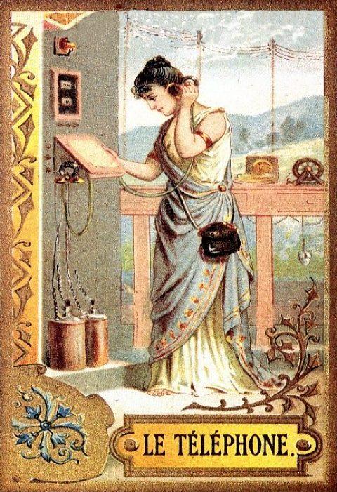 LES ANECDOTES  HISTORIQUES,  DROLES OU ENCORE INSOLITES - Page 4 Telephone
