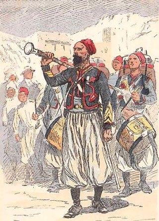 LES ANECDOTES  HISTORIQUES,  DROLES OU ENCORE INSOLITES - Page 5 Zouaves-2