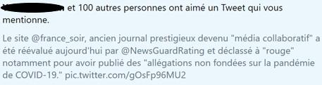 News au 2 juillet 2020 Tweet_newsguard