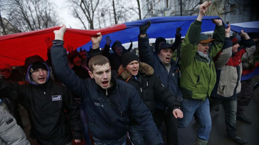 La guerre froide II? En Ukraine, c'est la guerre entre l'OTAN et la Russie  3479381