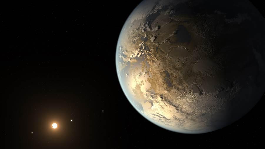Ce que l'on sait de Kepler-186f, la sœur (presque) jumelle de la Terre (FranceTvInfo) 3799889