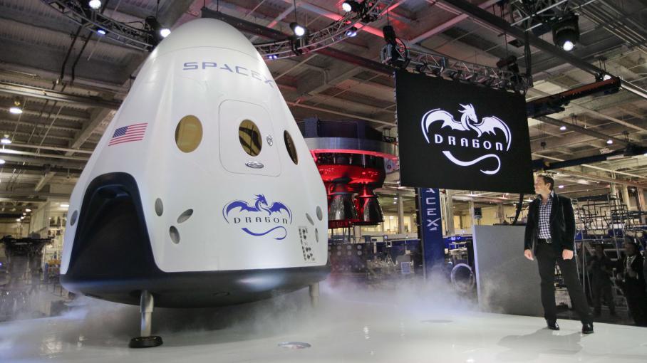 Les Etats-Unis ont un nouveau vaisseau spatial pour leurs astronautes 4073649