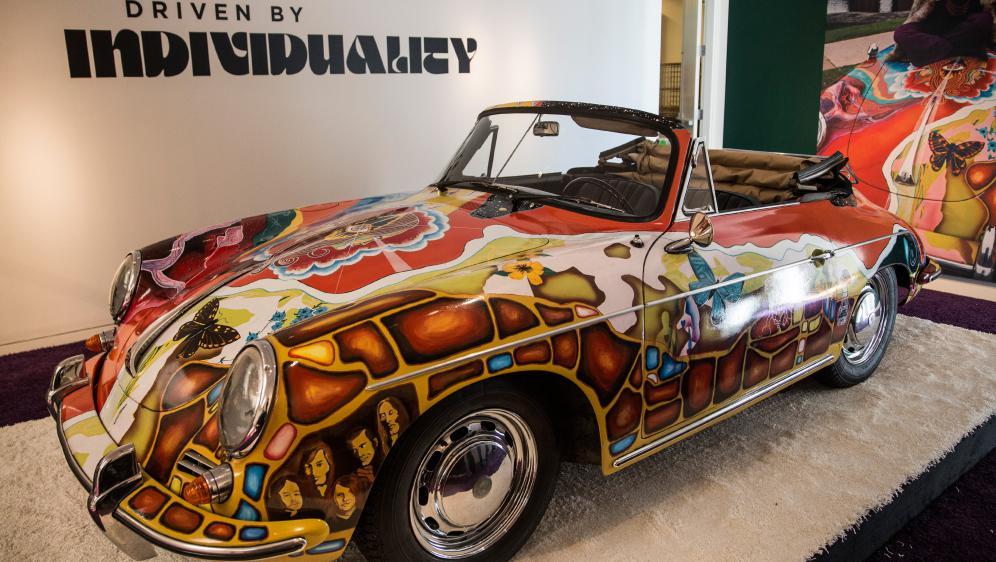 La Porsche 356SC 1600 Cabriolet 1964 de Janis Joplin 7481069