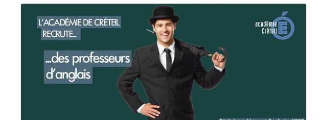 L'académie de Créteil n'a pas peur des clichés pour sa campagne de recrutement 9087621
