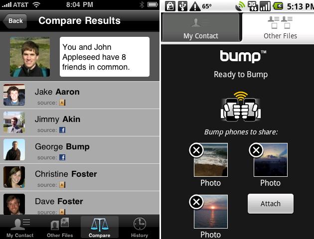 [SOFT] BUMP : Pour s'échanger des fichiers en un choc [Gratuit] Bumpshots