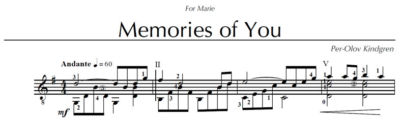 how to play this song? Memories-start