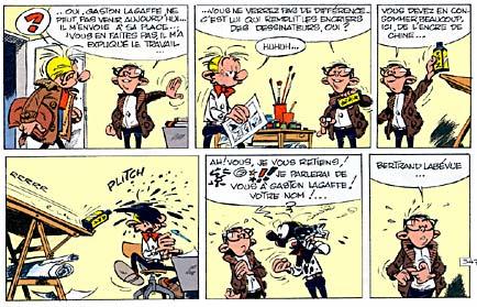 Gaston Lagaffe Labevue_pl