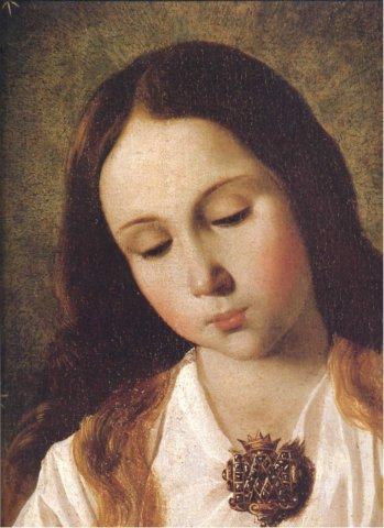 La Madonna. E molti dipinti sulla Natività da Samael. Photo11