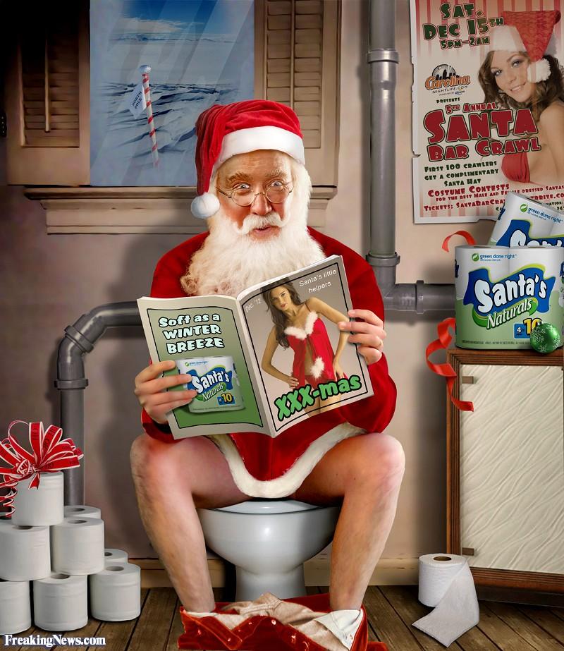 Mikuláš vs Upíri - Stránka 3 Santa-on-the-Toilet--105038