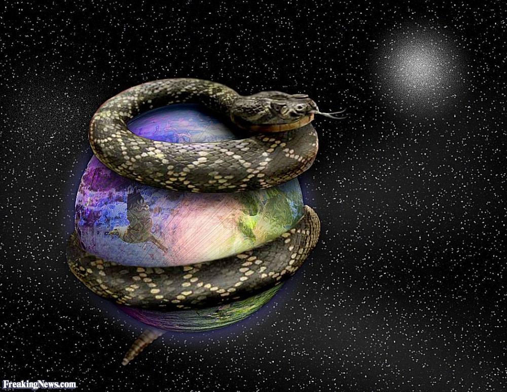 Earth Wrapped In 'Star Trek Force Field', Scientists Discover Snake-World-3868
