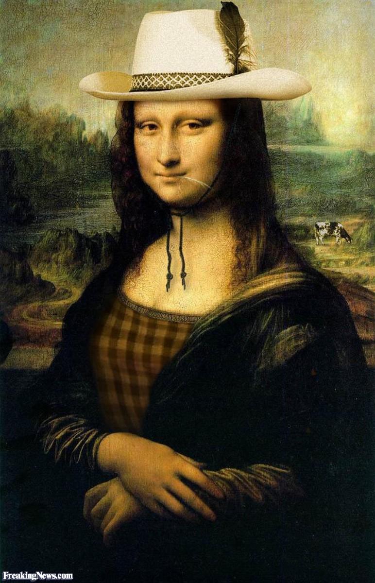 Razne Mona Lize Mona-Lisa-Cowgirl--38068