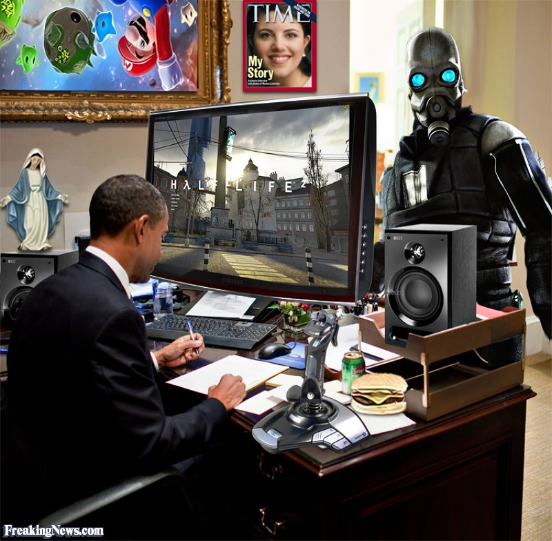 The United States of the Solar System, A.D. 2133 (Book Five) - Page 3 Barack-Obama-Is-Visited-by-an-Alien--73819