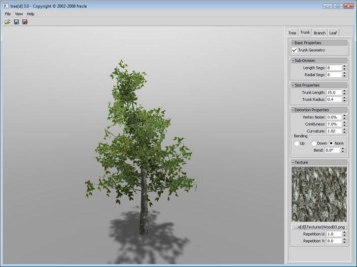 Frecle tree Treed_screenshot00_pinetree