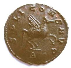 Antoniniano de Galieno. SOLI CONS AVG. Pegaso a dcha. Roma. Pegase%20droite%20revers