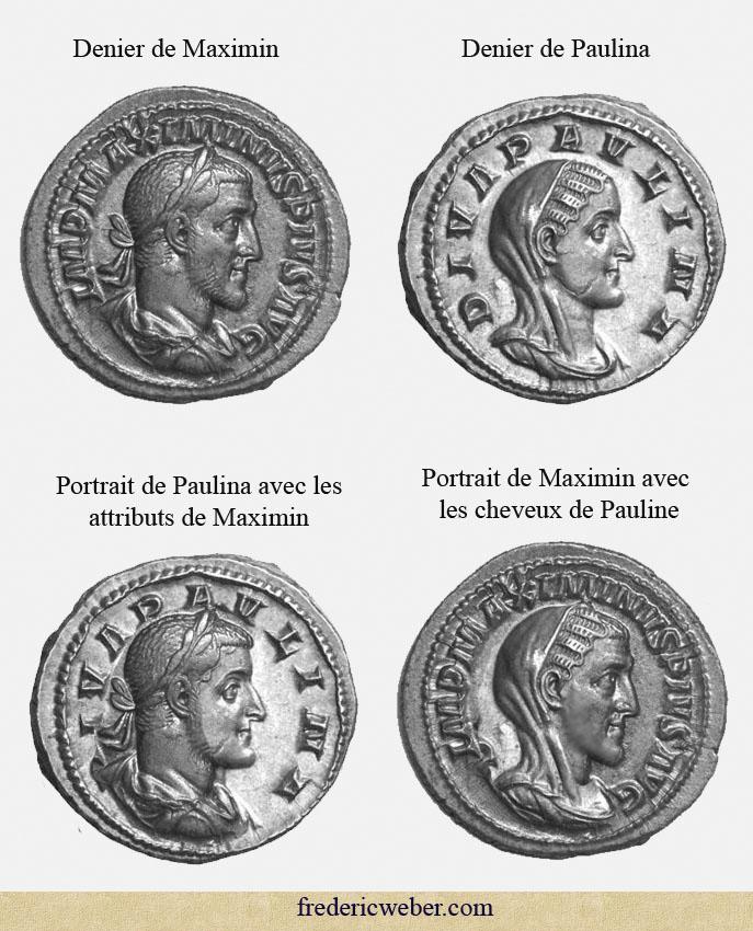 Le vrai visage des empereurs romains (reconstitution) Maximin_paulina