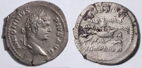 Helios Numismatik Caracalla_denier_laetitia_temp