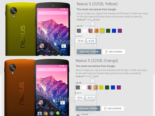 LG Nexus 5 : 6 nouvelles couleurs à venir Nouvelles-couleurs-nexus-5