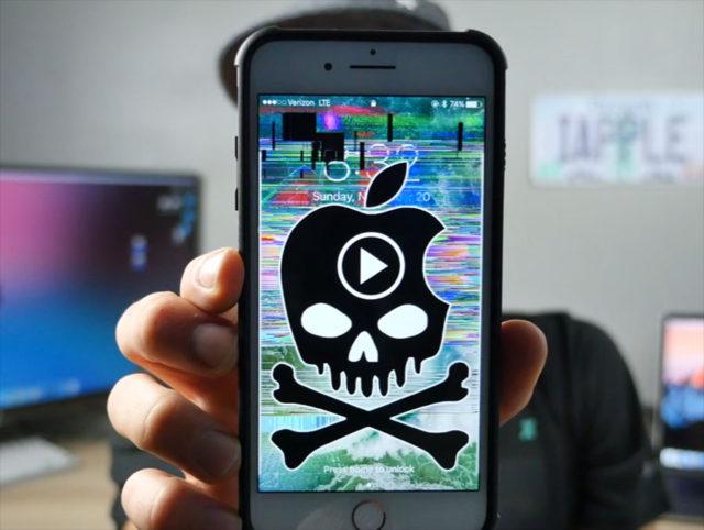 Une vidéo fait planter tous les iphones Malware-iphone-640x482
