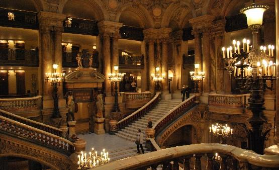 Pariska Opera (Paris Opéra – Pariz) Paris-Opera-staircase