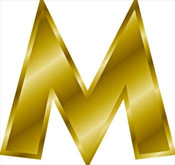 صور حرفm اكبر مكتبة صور حرف m كل صور حرف m اجمل صور حرف m Gold-letter-M