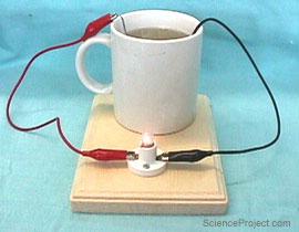 توليد الكهرباء من الفاكهه  Salt_battery_1