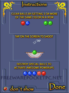 DRAGONBALL, un jeu de tir sympa (rien à voir avec dragonball Z) Dragon_ball_windows_mobile_3