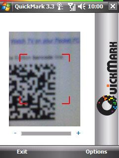 """Un lecteur QR Code """"Quick Response"""" lecteur Code barre 2D pour HTC Quickmark-v3-3-barcode"""