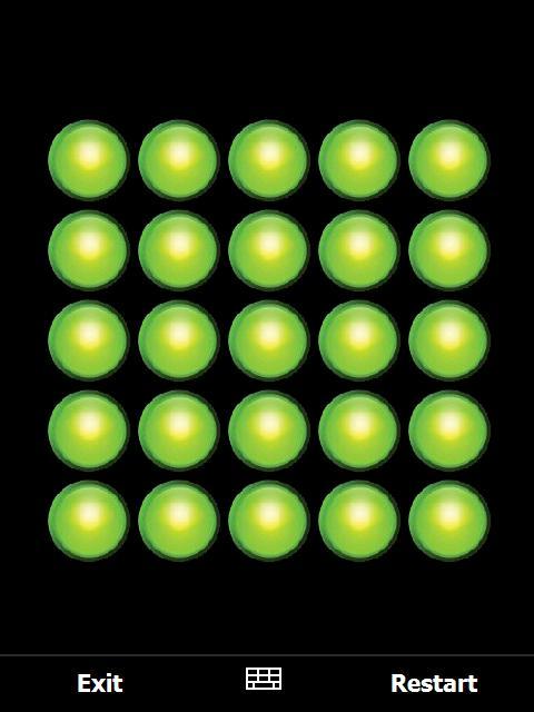 5 x 5 LIGHTS OUT - Jeu de réflexion (version 1.3) Lightsoff.1