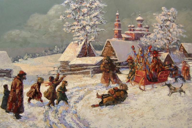 новый год в старину у россии фото именно последний
