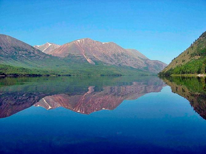 Озера маленькие, большие, красивые и не очень - все тут! 3