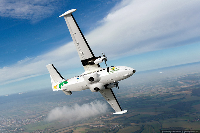 Как делают самолеты Л-410 в Чехии 36