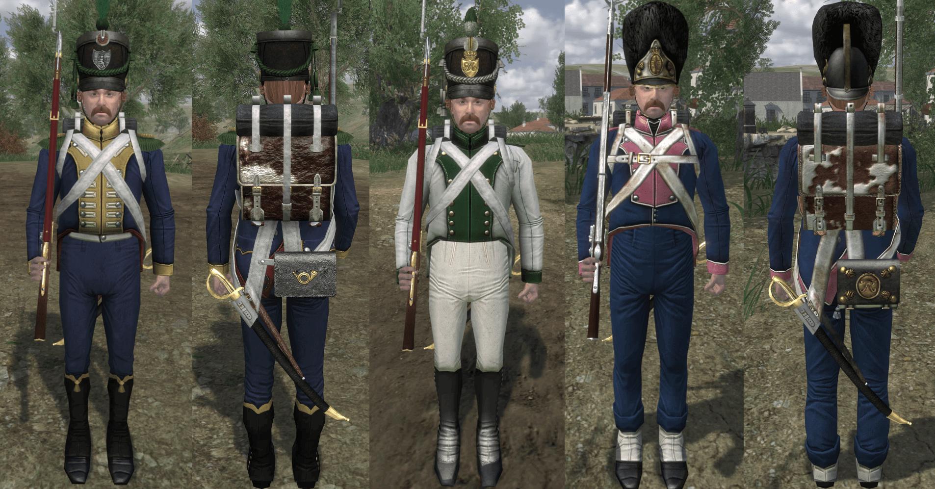 ¡Nuevo e inesperado parche de Napoleonic Wars! ¡Nueva facción! Units2