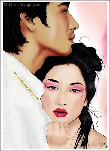 Kev ntshaw ua hluas zaum ob hauv niam txiv lub neej Lamant-de-la-geisha