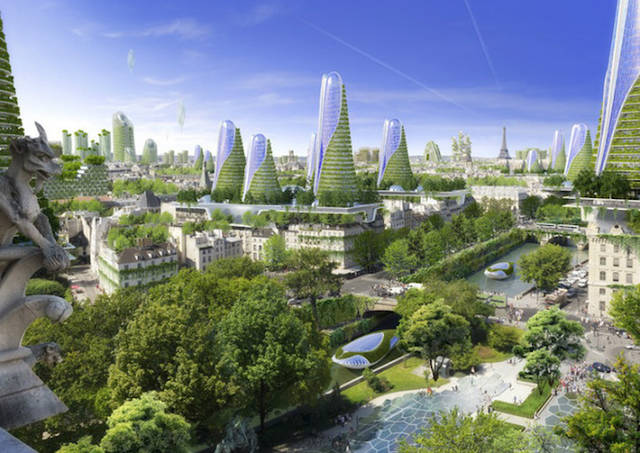 Les architectures insolites Paris-of-2050-Architecture_0-640x453