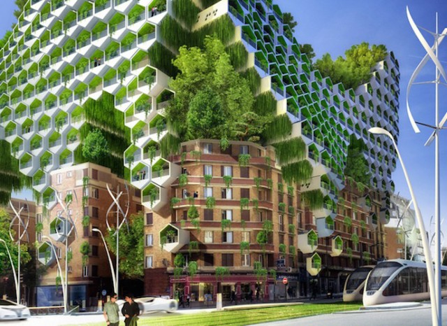Les architectures insolites Paris-of-2050-Architecture_4-640x466