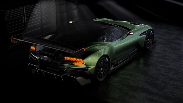 SALON DE L'AUTOMOBILE DE GENEVE : L'Aston Martin V12 Vulcan Par Baptiste (Fubiz.net) Aston-Martin-V12-Vulcan-4-640x360