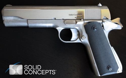 Armas en impresoras 3D.  Noticias,opiniones,fotos,videos Solidconcept
