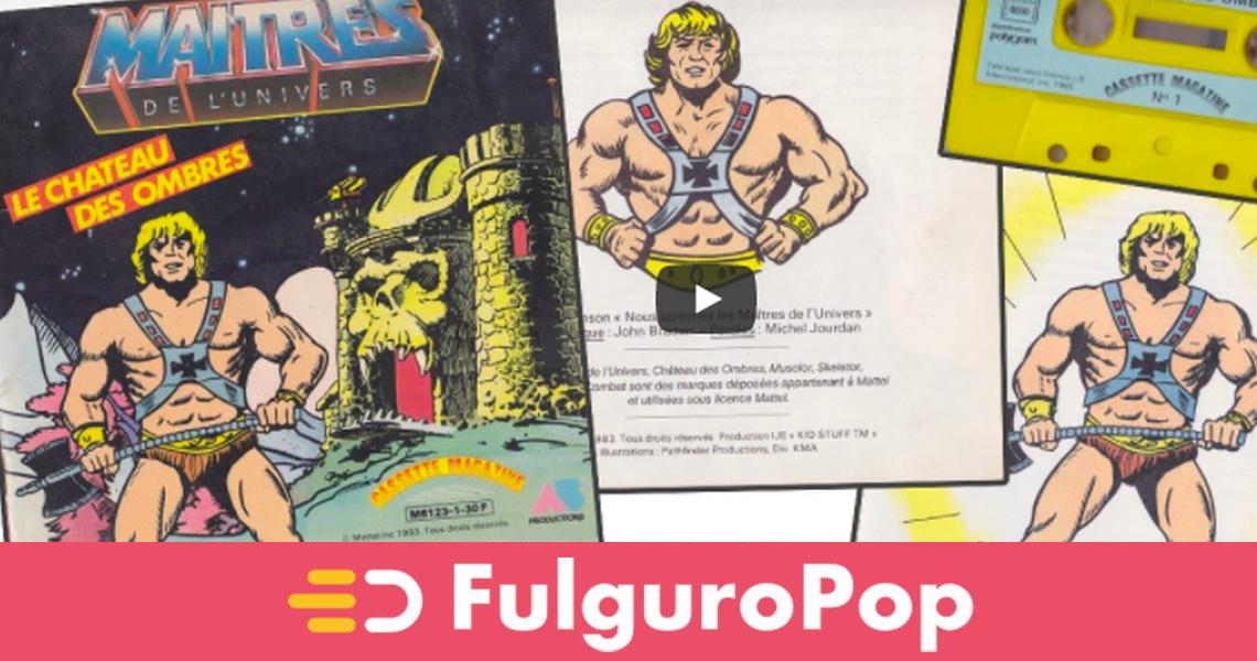 Revues FurySanctuary 2021 - La chaîne a besoin de vous  Musclor-livre-cassette