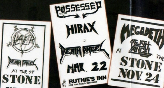 99 WAYS TO THRASH: XXX Slayer - South of Heaven - Página 6 Death-angel_early-concert-posters