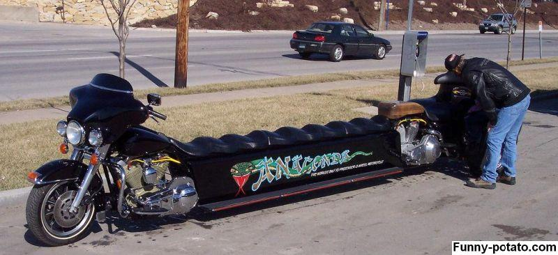 Čudni motori (Fotografije) Big-motorcycle
