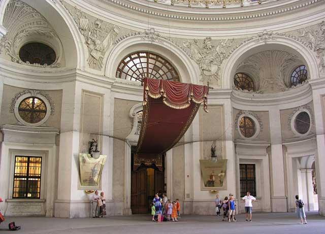 Elisabeth, emperatriz de Austria-Hungría Hofburg%20-interior